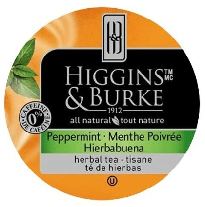 Higgins Burke Peppermint Single Cup Servings Tidewater Coffee