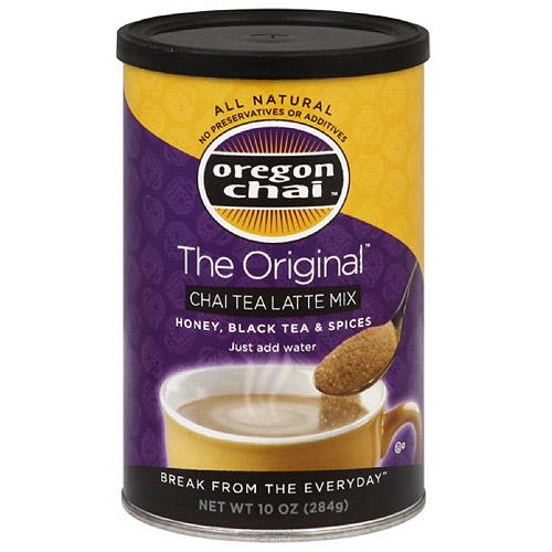 the original chai tea latte mix canister. Black Bedroom Furniture Sets. Home Design Ideas