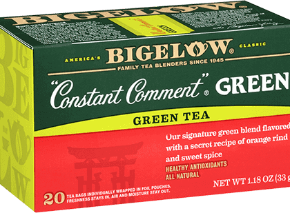Buy Bigelow Constant Comment Green from Tidewater Coffee