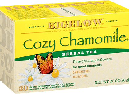 Buy Bigelow Cozy Chamomile from Tidewater Coffee