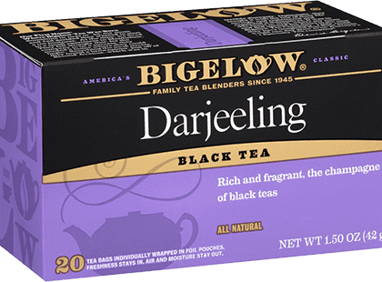 Buy Bigelow Darjeeling from Tidewater Coffee