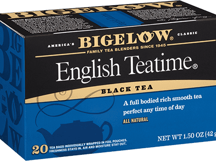 Buy Bigelow english Tea Time from Tidewater Coffee