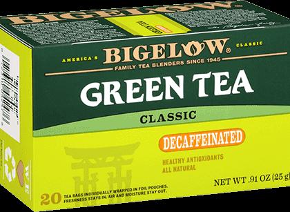 Buy Bigelow Green Tea Decaf from Tidewater Coffee