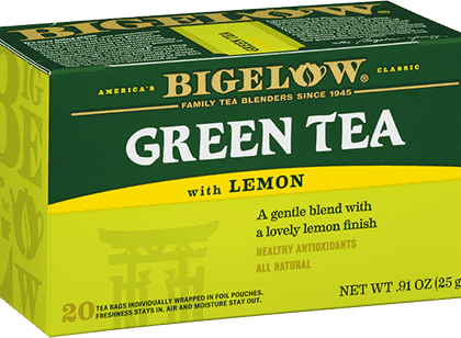 Buy Bigelow Green Tea with Lemon from tidewater coffee
