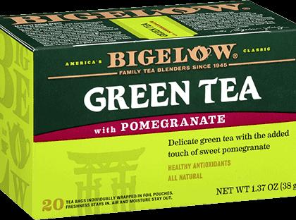 Buy Bigelow Green Tea w/ Pomegranate from Tidewater Coffee
