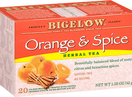 Buy Bigelow Orange and Spice from Tidewater Coffee