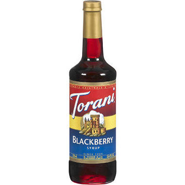 Buy Torani Blackberry Syrup from Tidewater Coffee