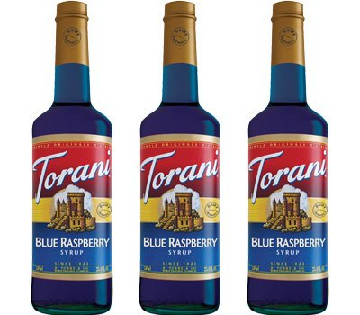 Buy Torani Blue Raspberry from Tidewater Coffee