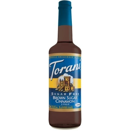 Buy Torani Brown Sugar Cinnamon Syrup from Tidewater Coffee