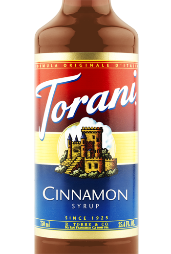 Buy Torani Cinnamon Syrup from Tidewater Coffee