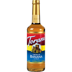 Buy Torani Crème de Banana Syrup from Tidewater Coffee
